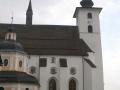 Severní strana kostela