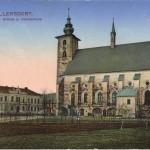 Velké Losiny kostel 1914