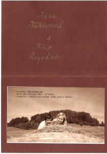 Iva a Filip svatební oznámení1